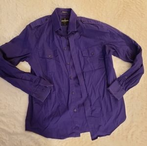 Men's Express Button-Down with Front Pockets